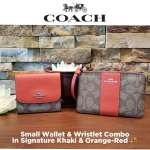 *CLEARANCE* New Coach Wallet & Wristlet